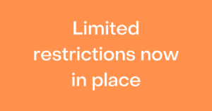 Limited restrictions now in place